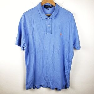 Polo by Ralph Lauren | Blue Classic Fit Mens Polo